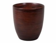 Obal na kvetináč KODET WOOD keramický matný d20x21cm