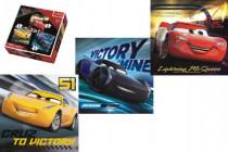 Puzzle 3v1 Autá / Cars 3 Disney 20,50,36 dielikov