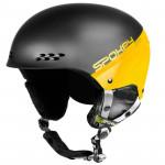 Spokey APEX lyžiarska prilba čierno-žltá, vel. L / XL