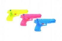 Vodné pištole plast 17cm - mix farieb