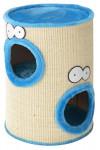 Škrabacie domček Coockoo Classic modrá 37x37x56CM blue