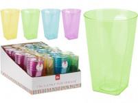 kelímok 0,3l plastový (6ks) - mix farieb