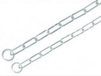 Obojok reťaz sťahovacie chróm Nobby 0,40 x 75 cm