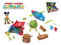 Mickey Mouse sada na piknik s kloubovou figurkou 8 cm a doplňky
