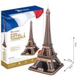 Puzzle 3D Eiffelova veža - 82 dielikov