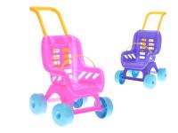 Kočík Buggy plastový - mix farieb