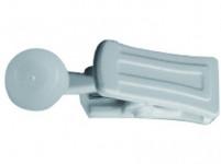 žabka pre garníž a koľajničku plastová (10ks)