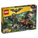 Lego Batman 70914 Bane a útok s náklaďákem plným jedů