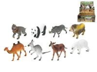 Zvířátka safari plast 12-18cm - mix variant či barev