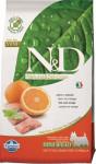 N & D Grain Free Dog Adult Mini Fish & Orange 2,5 kg
