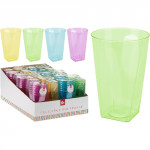 kelímek 0,3l plastový (6ks) - mix barev