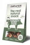 Naturea pamlsky Natural snack pes kousky divočáka 80g