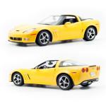 RC model Chevrolet Corvette C6 GS 1:12, žlutá metalíza, Rastar