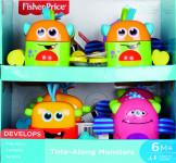 Fisher Price rozverná monstra - mix variant či barev