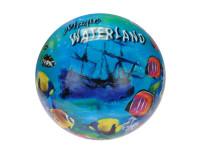 Lopta 23 cm vodný svet