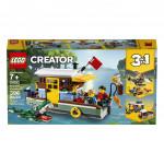 Lego Creator Riečne hausbót