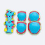 Spokey Buffer 3-dielna sada detských chráničov modré veľkosť XS
