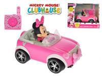 Minnie R/C cabriolet 17 cm 2,4 GHz na baterie