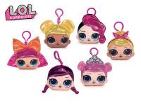 LoL Surprise Girls prívesok na kľúče látkový 10 cm - mix variantov či farieb