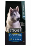 Ciba Dog Adult Sensitive Fish & Rice 12kg