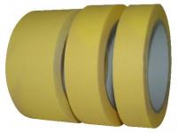 páska krepová 25mmx50m ŽL do 60 stupňov