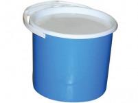 vedro s vekom 5l plastové - mix farieb