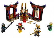 Lego Ninjago 70651 Záverečný súboj v trónnej sále