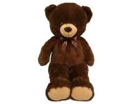 Medveď plyšový 90 cm s mašľou