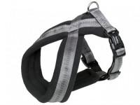 Postroj nylon X soft Grip - sivý Nobby 2,5-5,0 x 40-60 cm