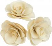 Dekorácie - Palm Deco Rose 6 cm - 3 ks