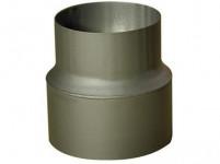 redukcia rúrková 200 / 160mm (d.160mm) t.1,5mm ČER