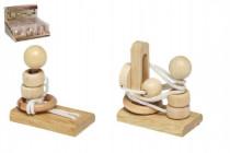 Hlavolam dřevo - mix variant či barev
