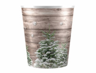 Obal CHRISTMAS STROMČEK Vianoce plastový d12x14cm