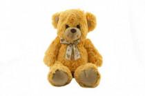 Medveď s mašľou plyš 50cm