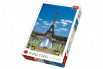 Puzzle Eiffelova Veža, Paríž 2000 dielikov 68x96cm