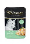 Miamor Cat Filet vrecko tuniak + zelen. 100g