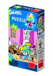 Puzzle Šmolkovia 60 dielikov 23,5x21,5cm - mix variantov či farieb