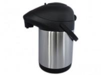termoska s pumpičkou 2,5l nerez + plastová