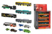 Autá osobné, nákladné a autobus v displeji - mix variantov či farieb