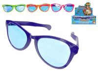 Legrační okuliare 26 cm - mix farieb