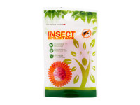 Repelentný náramok proti hmyzu pre deti i dospelých, 100% prírodný, červený