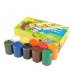 Plakátové barvy v kelímku 8 barev