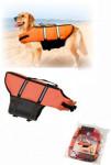 Vesta plávacie Dog L 40cm oranžová KAR