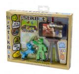 Stikbot sada figurka + zvířátko se stativem