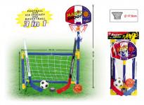 3v1 Basketbal, Fotbal, Hokej