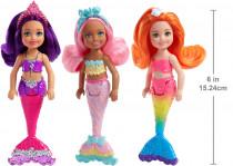 Barbie Chelsea mořská panna - mix variant či barev