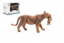 Zvířátka safari ZOO 13cm lvice plast