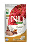 N & D GF Quinoa DOG Skin & Coat Quail & Coconut 2,5kg