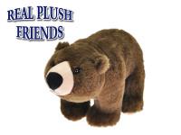 Medvěd plyšový 25 cm stojící