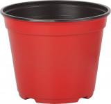 Kvetináč - kontajner Arca 14 cm - červený